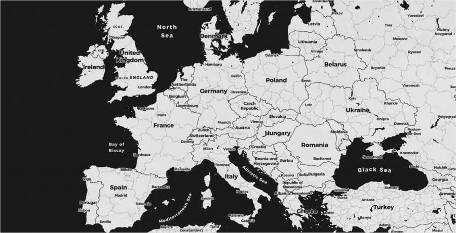 Map - Europe | Silent Professionals
